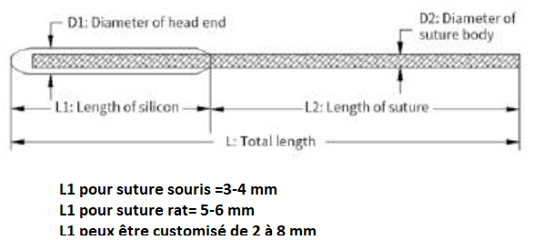 MCAO Suture details